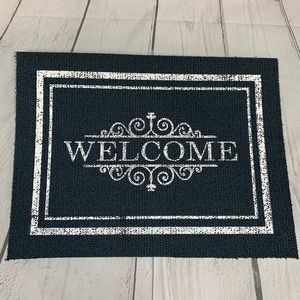 Other - 💥$10💥Classic Blue Welcome Mat
